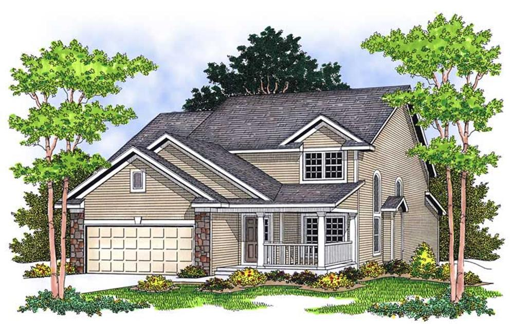 Main image for house plan # 13802
