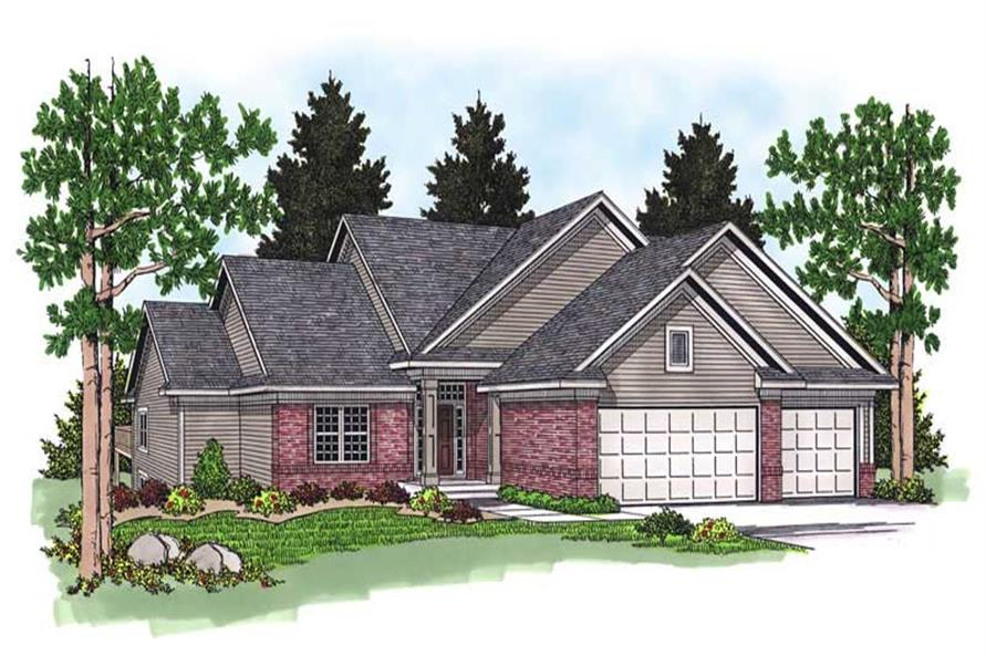 Main image for house plan # 13756