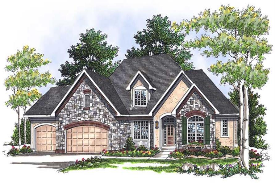 Main image for house plan # 13751