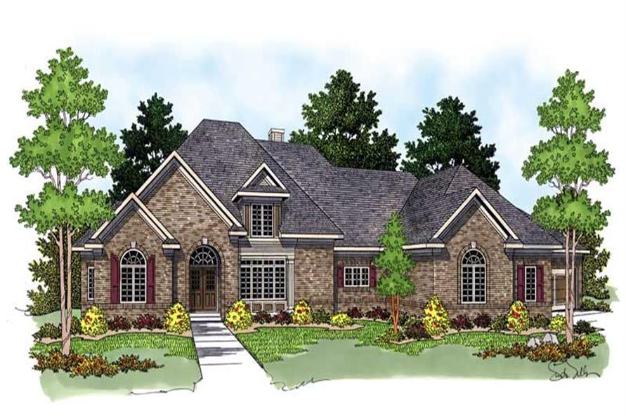Main image for house plan # 13762