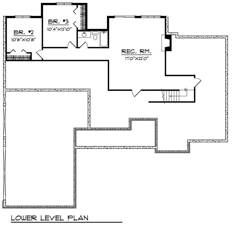 ranch home with 3 bdrms 3015 sq ft house plan 101 1206