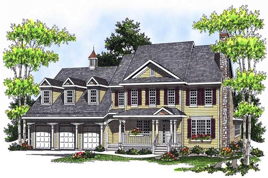 Main image for house plan # 13742