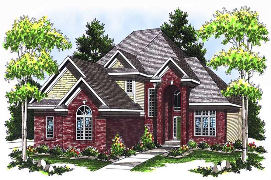 Main image for house plan # 13740