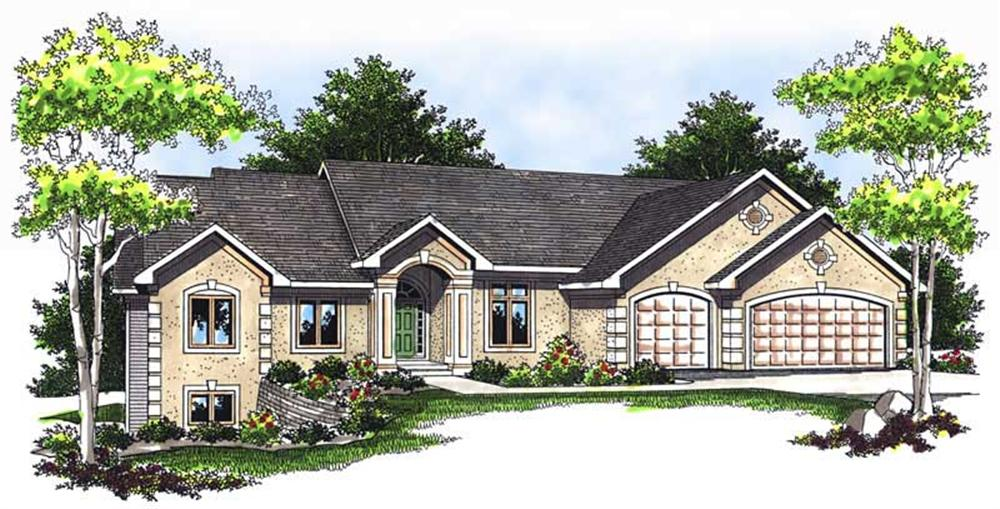 Main image for house plan # 13739