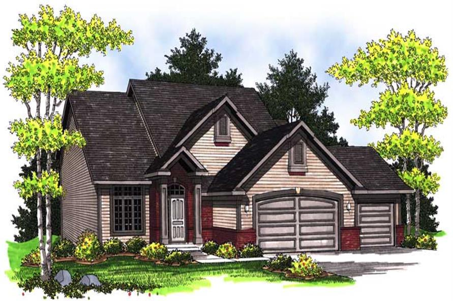 Main image for house plan # 14037