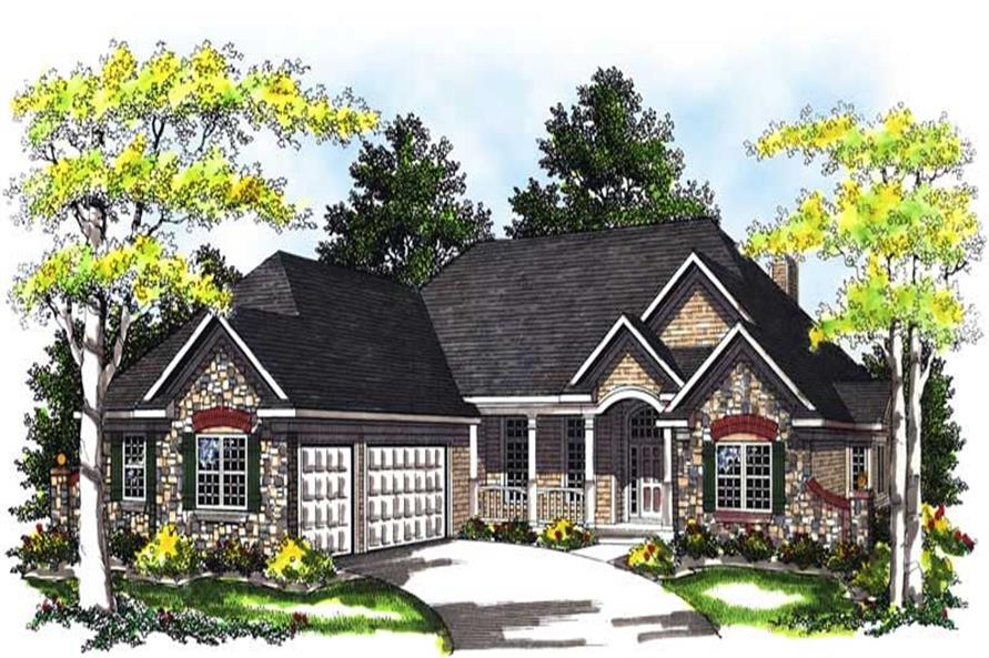 Main image for house plan # 13510