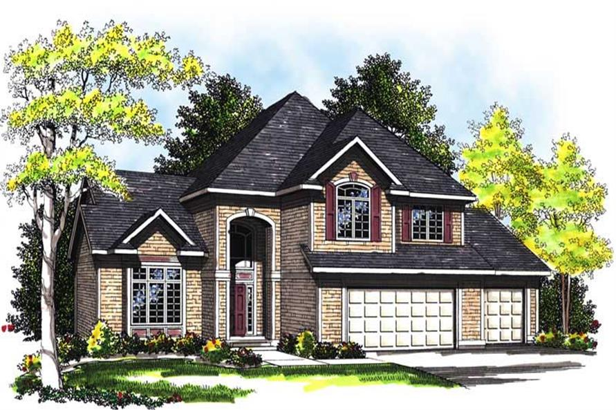 Main image for house plan # 13509
