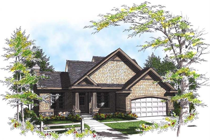 Main image for house plan # 13498