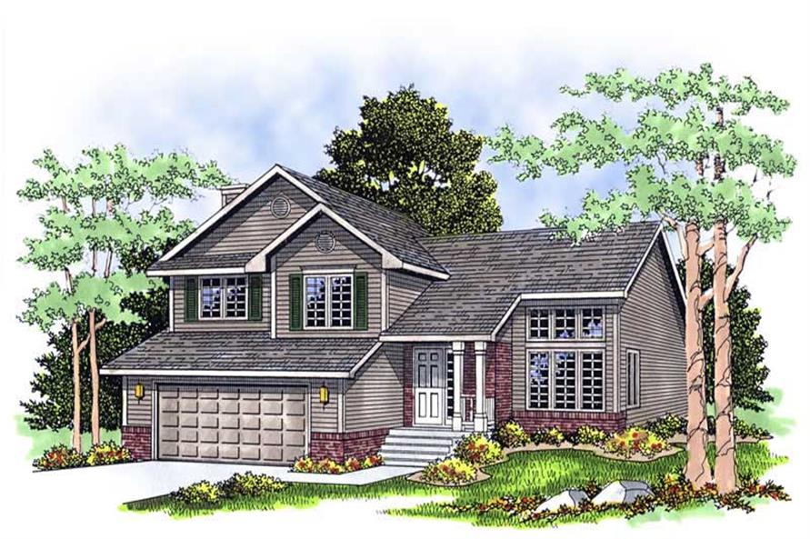 Main image for house plan # 13439