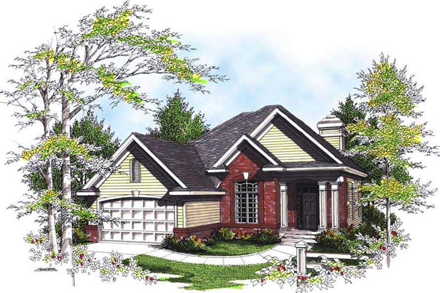 Main image for house plan # 13495