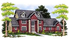 Main image for house plan # 13668