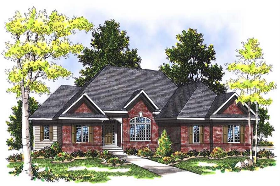 Main image for house plan # 13524