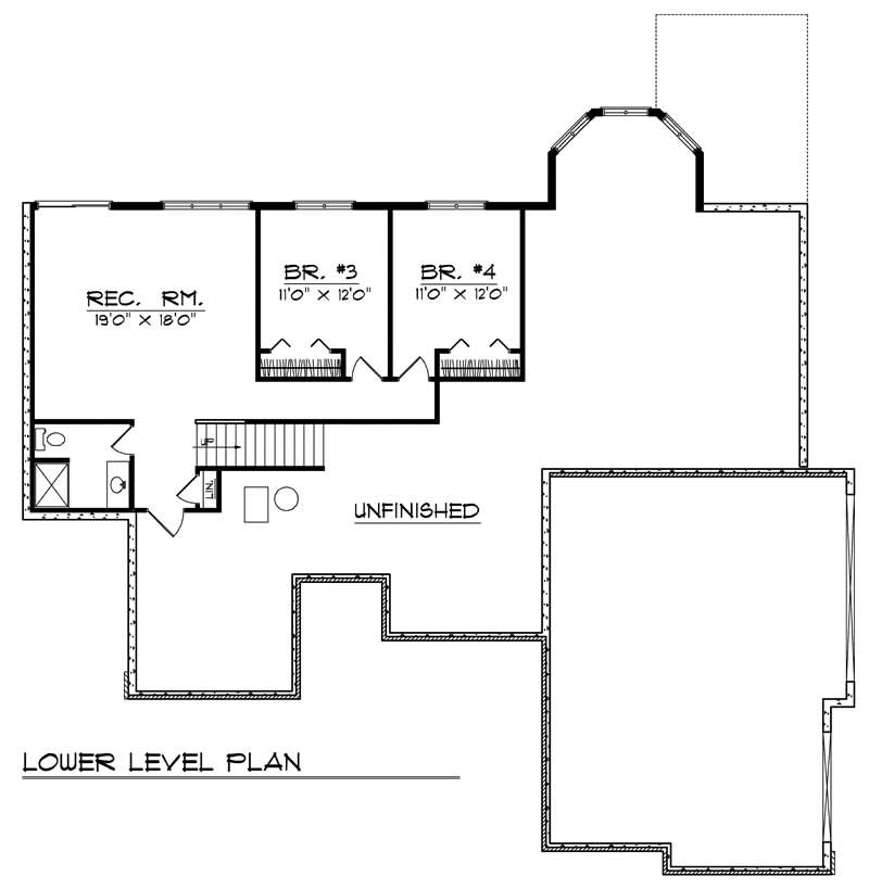 craftsman home with 4 bdrms 3050 sq ft house plan 101 1268