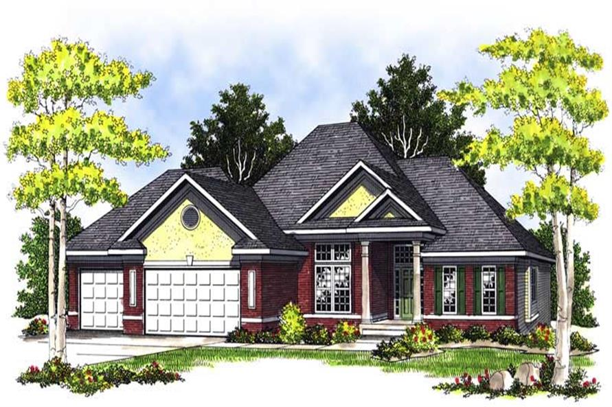 Main image for house plan # 13600