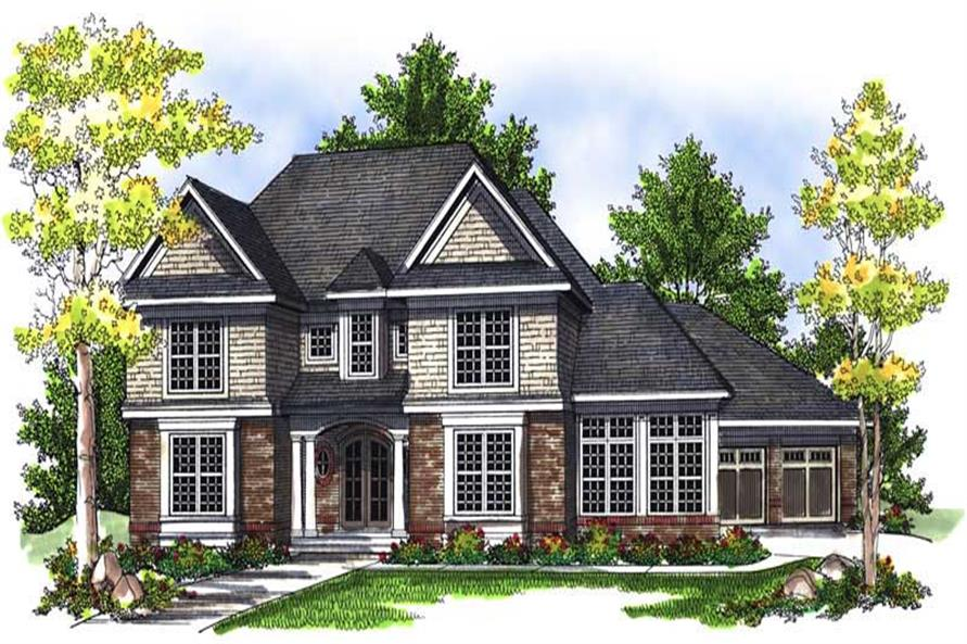 Main image for house plan # 13985