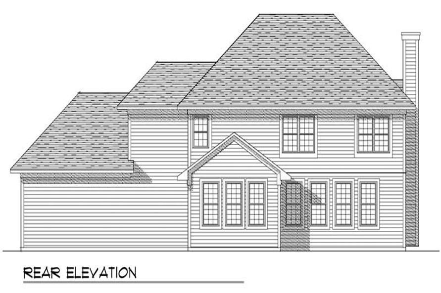 REAR ELEVATION