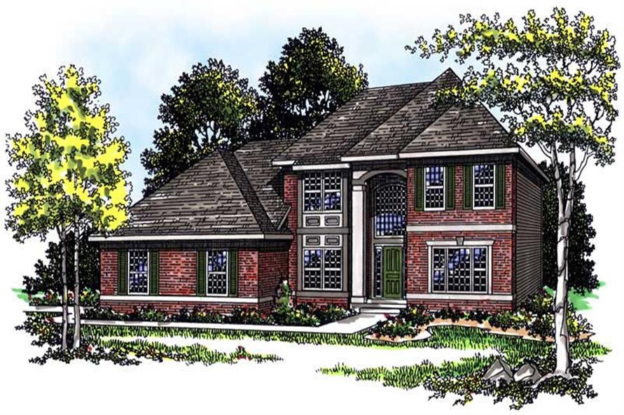 Main image for house plan # 13448