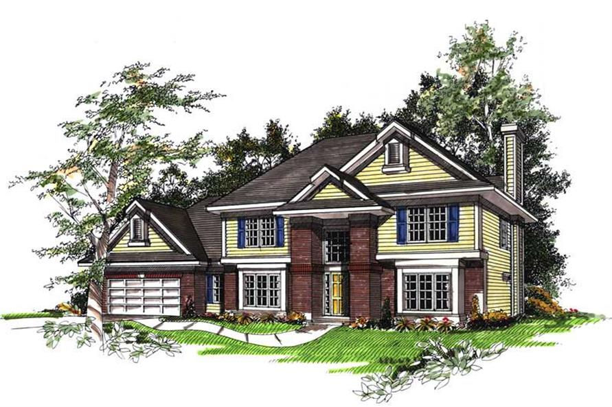 Main image for house plan # 13342