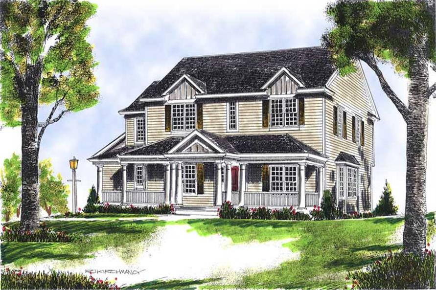 Main image for house plan # 13619