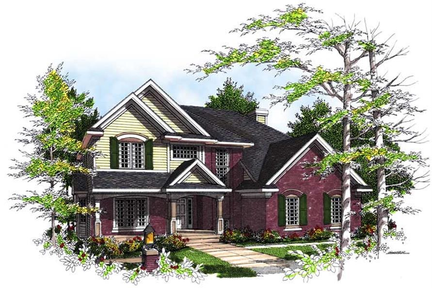 Main image for house plan # 13468