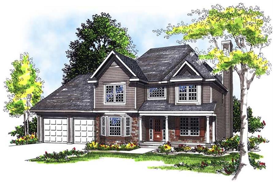 Main image for house plan # 13479