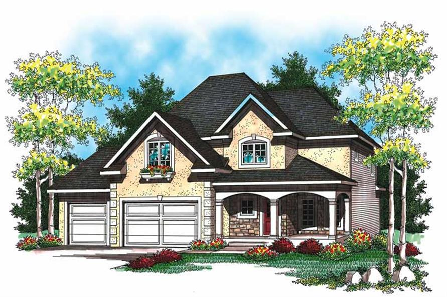Main image for house plan # 19506