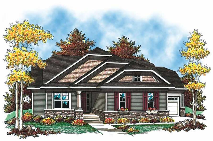 Main image for house plan # 19536