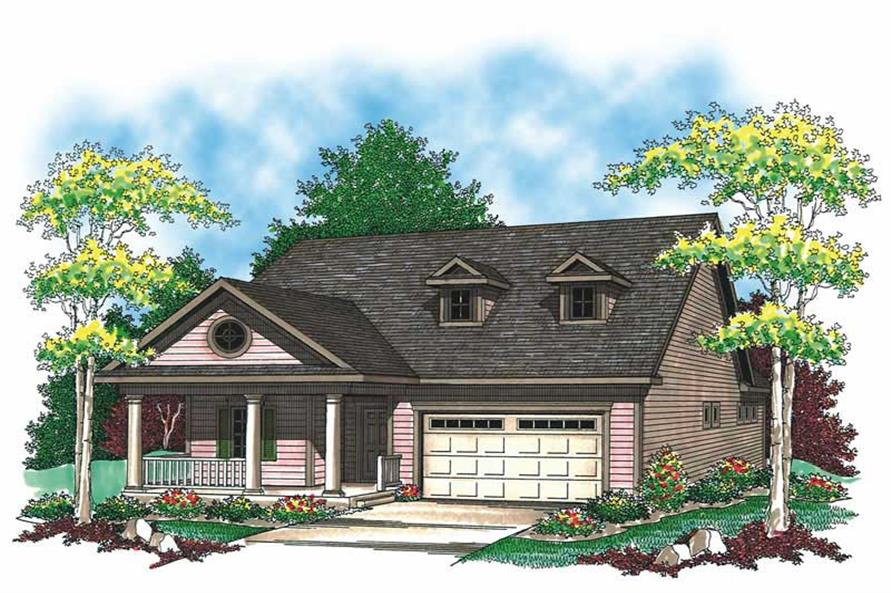 Main image for house plan # 19529