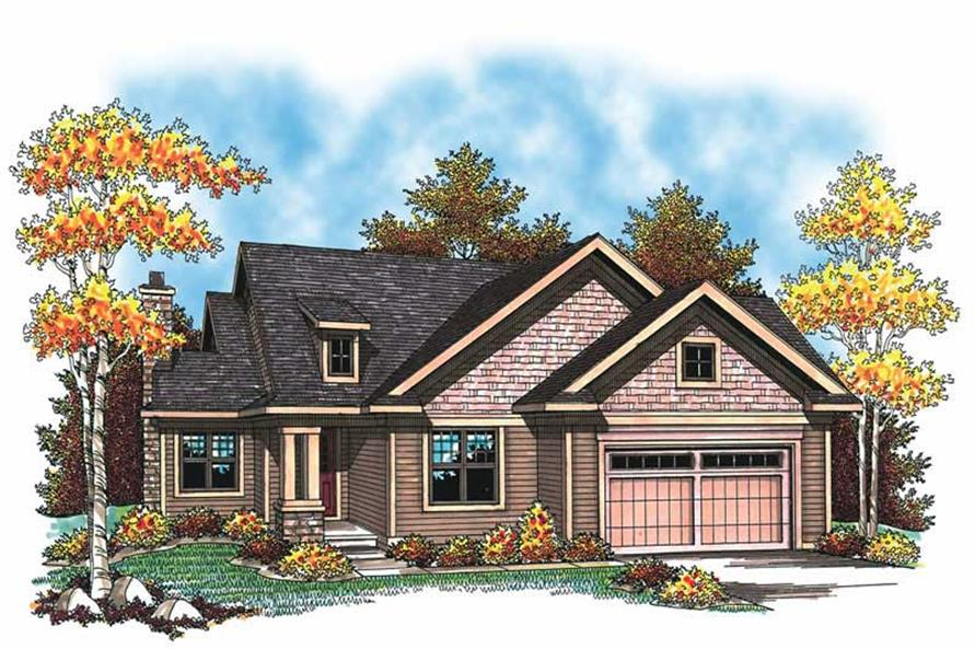 Main image for house plan # 19526