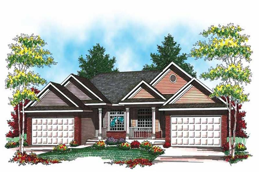Main image for house plan # 19524
