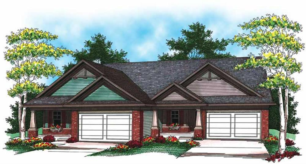 Main image for house plan # 19523