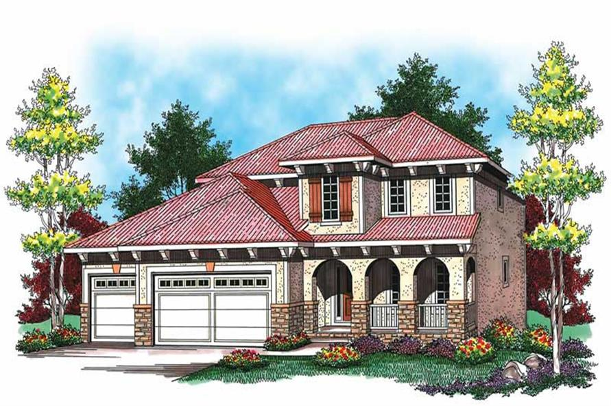 Main image for house plan # 19507