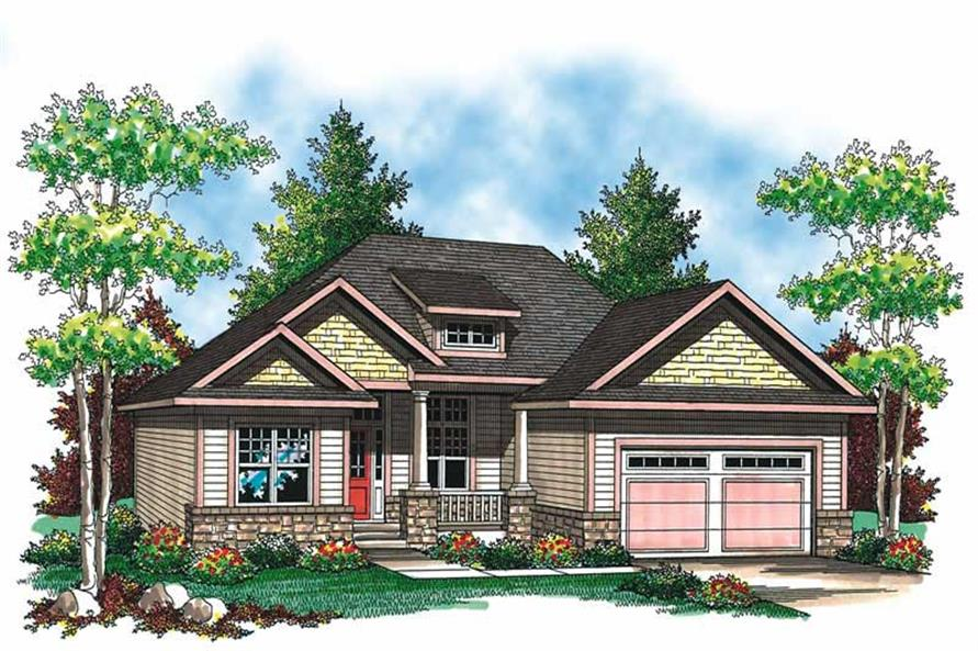 Main image for house plan # 19539