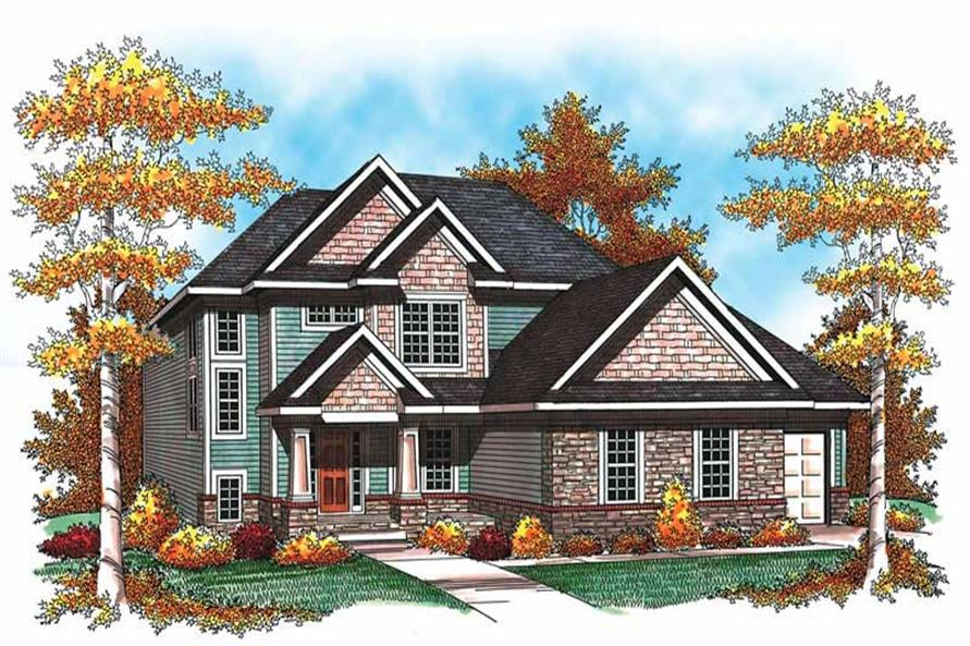 Main image for house plan # 19504