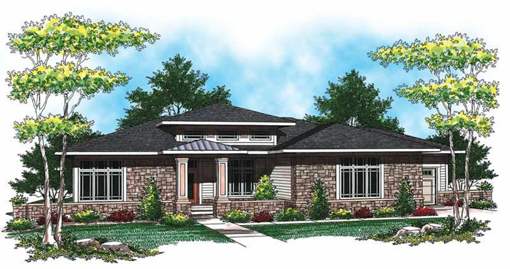 Main image for house plan # 19503