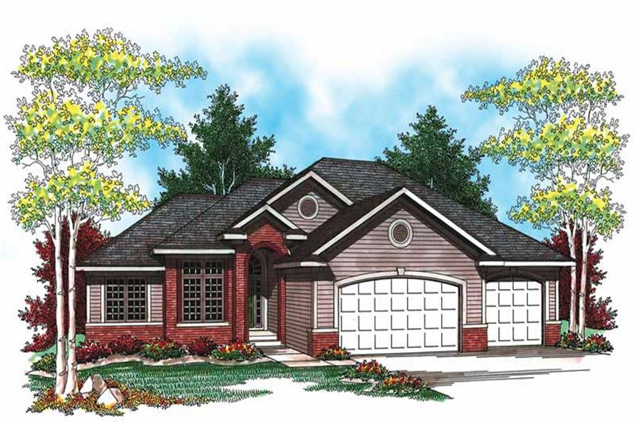 Main image for house plan # 19500
