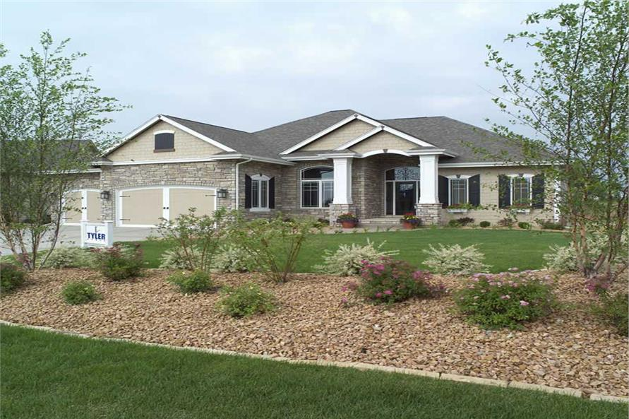 Landscaping of this 2-Bedroom,2049 Sq Ft Plan -2049
