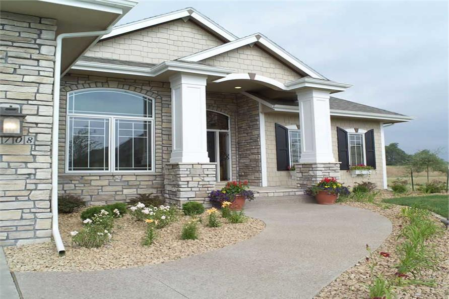 Home Exterior Photograph of this 2-Bedroom,2049 Sq Ft Plan -101-1336
