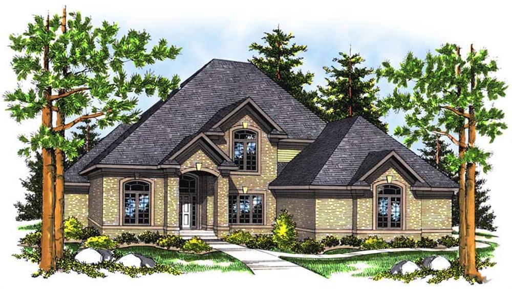 Main image for house plan # 13643