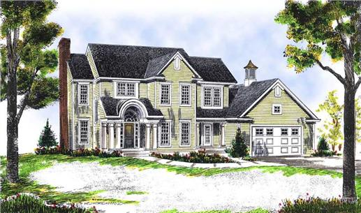 Main image for house plan # 13617