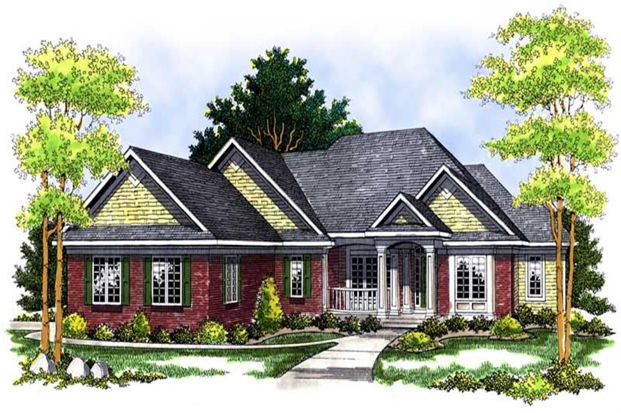 Main image for house plan # 13613