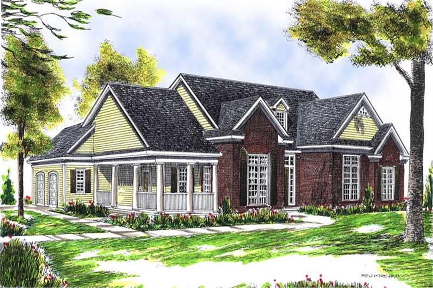 Main image for house plan # 13611
