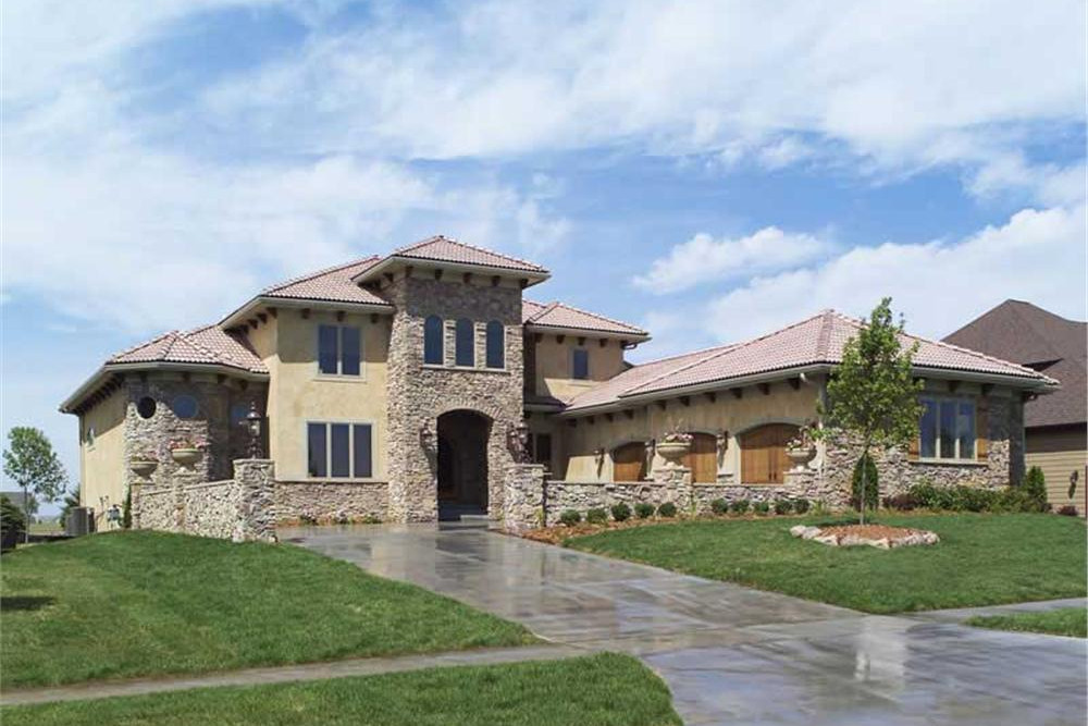 Luxury House Plan 4 Bedrms 3 5 Baths 3687 Sq Ft