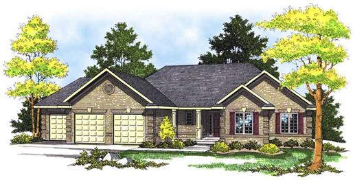 Main image for house plan # 13636