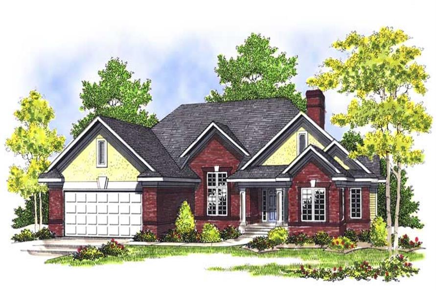 Main image for house plan # 13567