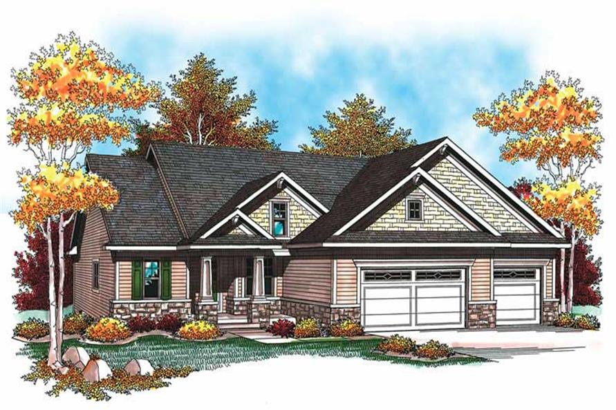 Main image for house plan # 19497