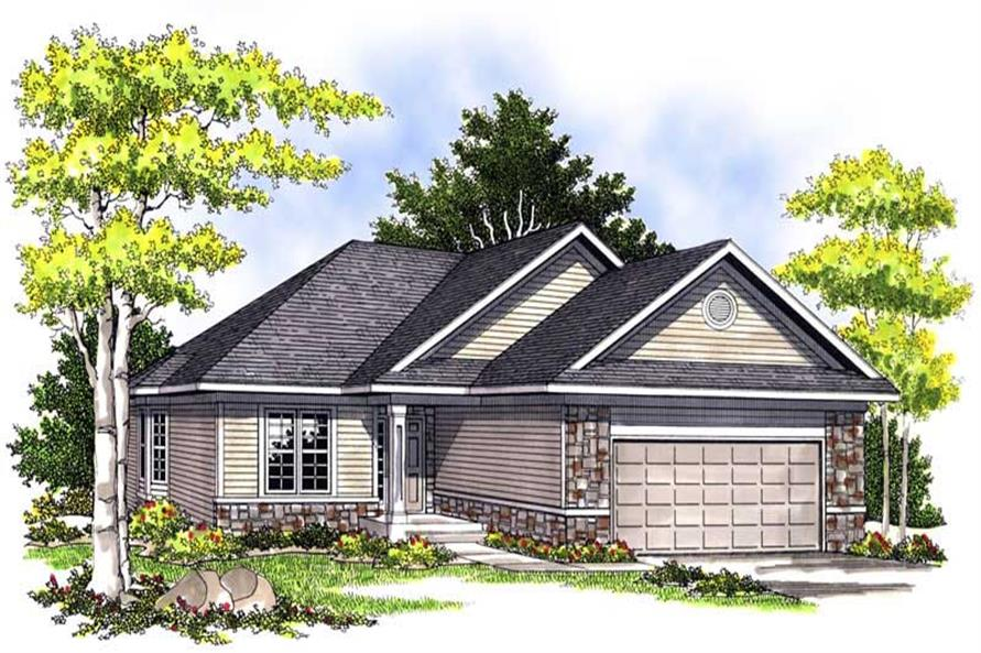 Main image for house plan # 13579