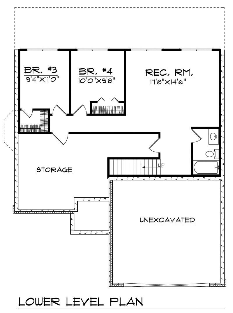 bungalow home with 4 bdrms 1883 sq ft floor plan 101 1359