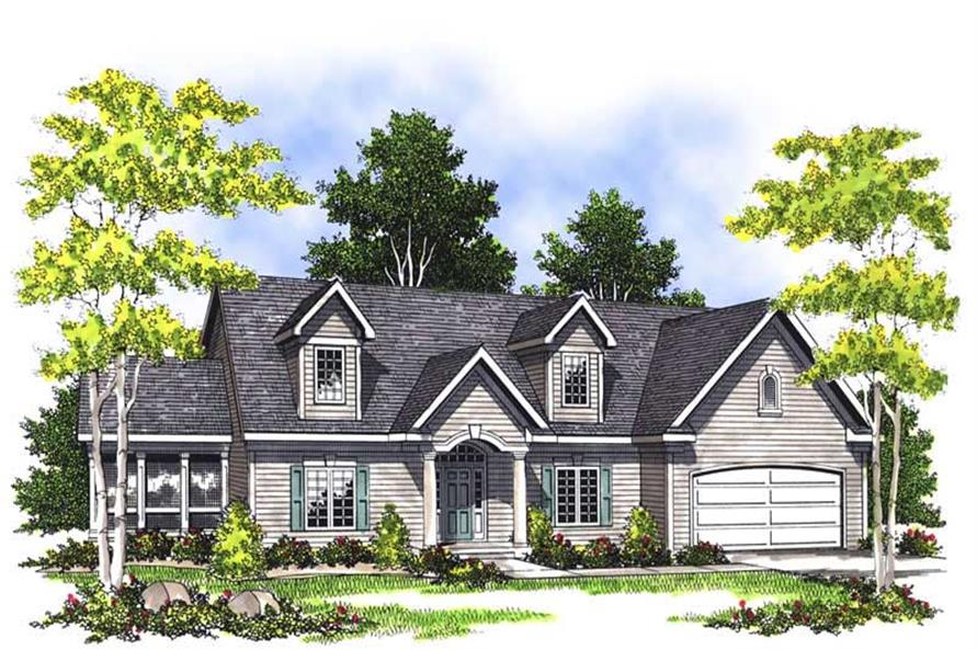 Main image for house plan # 13570