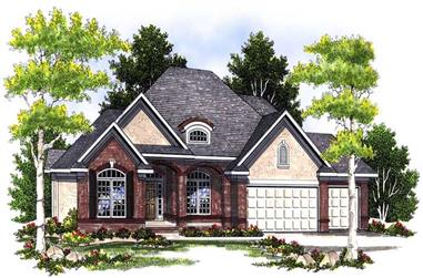 4-Bedroom, 3786 Sq Ft Craftsman Home Plan - 101-1365 - Main Exterior